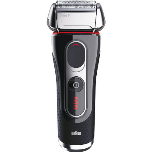 6. Braun Electric Shaver With Cleaning Center