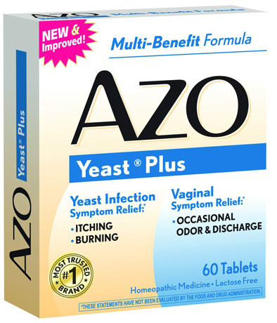 1. AZO Yeast Plus tablets