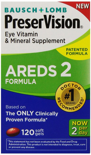 9. PreserVision AREDS 2 Vitamin & Mineral Supplement