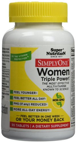 4. SuperNutrition Simply One Women 90 Tab