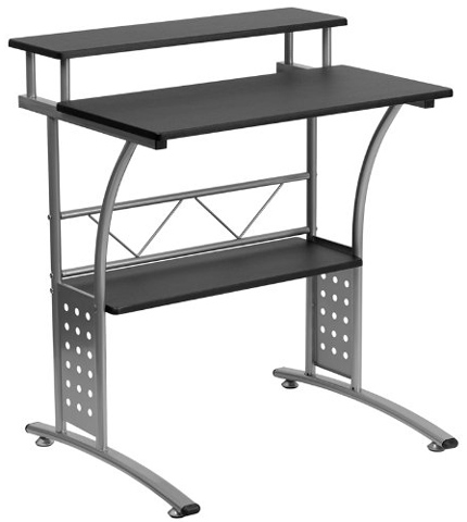 05. Clifton Black Computer Table for Home and Office