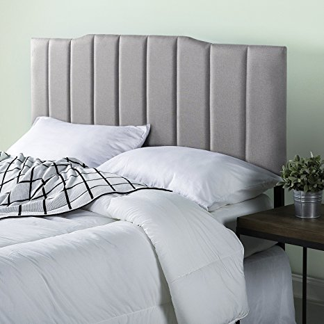 Zinus Upholstered Channel Stitched Headboard