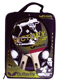 4. Butterfly Victory Table Tennis Set