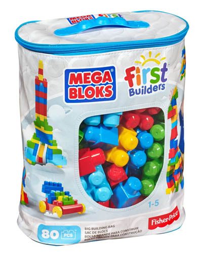 9. Mega Bloks First Builders Big Building Bag