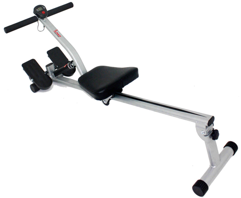 3. Sunny Health and Fitness Rowing Machine with full motion arms