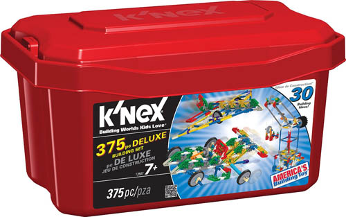 8. K'NEX Piece Deluxe Building Set