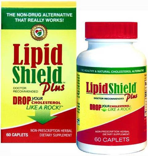 9. LipidShield Plus Lower cholesterol