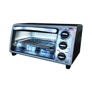 1. Black & Decker TO1313SBD 4-Slice Toaster Oven