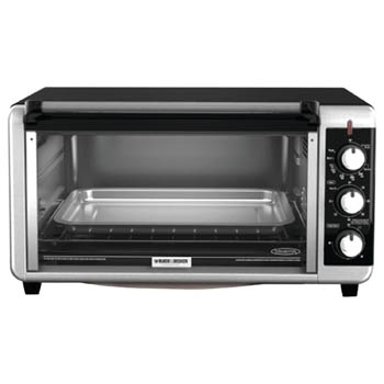7. Black & Decker 8-Slice Extra Wide Toaster Oven