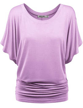 1. Boat Neck Dolman Top