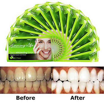 1. Harmony Life Teeth Whitening Strips