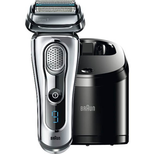 5. Braun Electric Shaver with Cleaning Center