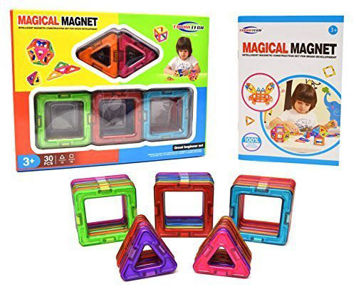 10. TurboTech Magical Magnet Building Set