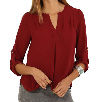 4. Eliacher Women's Casual Long Sleeve