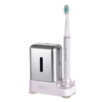 3. Sterline Sonic Pulse Electric Rechargeable Toothbrush