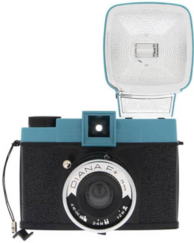 1. Lomography Camera with Flash