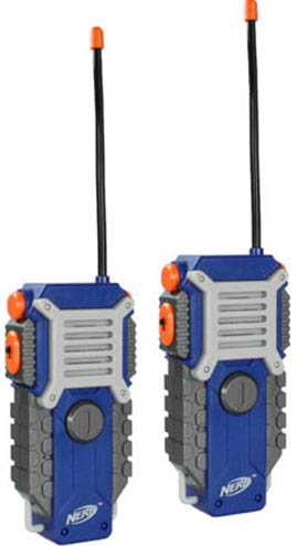 4. Nerf Walkie Talkies