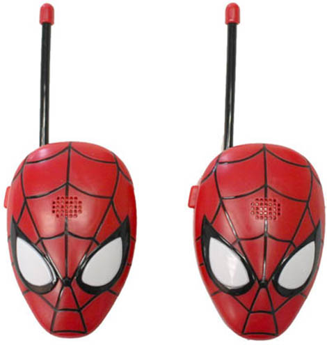 5. Spiderman Walkie Talkies