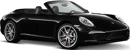 10. Carrera S Cabriolet Radio Remote Control Sports Car