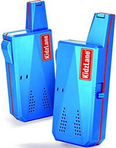 1. Kidzlane Durable Walkie Talkies