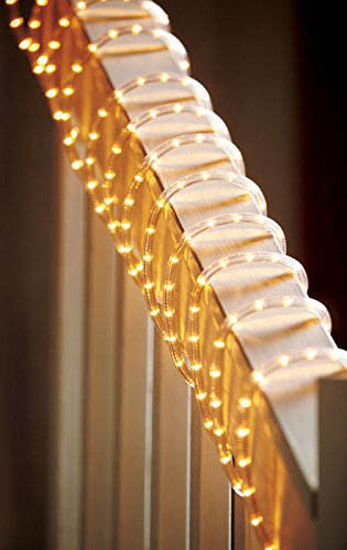 9. Clear PVC Rope Lights