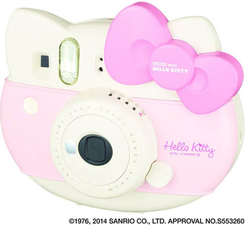 7. Fujifilm Instax Hello Kitty Instant Film Camera