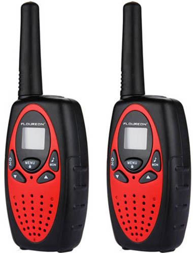 6. Floureon 22 Channel Walkie Talkies