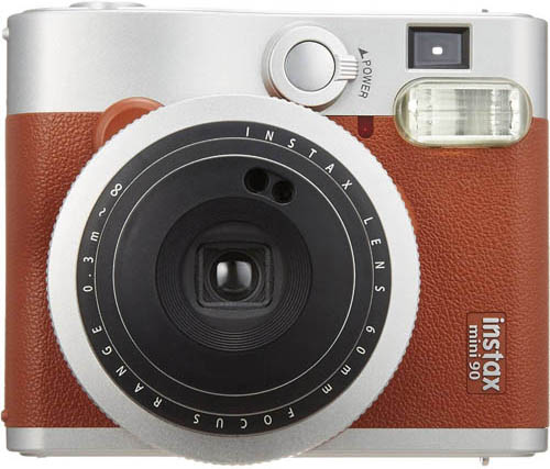10. Fujifilm INSTAX Mini 90 Brown