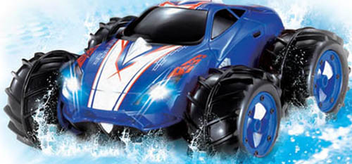 8. Powerful Amphibious Remote Control Car