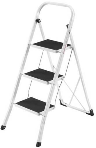 2. VonHaus Portable 3 Step Ladder