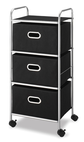 6. Whitmor Three Cart Drawers