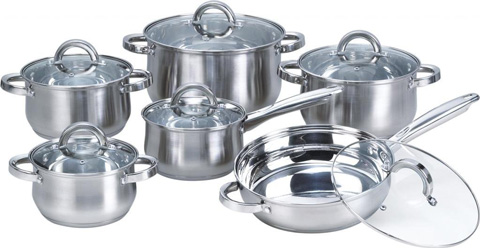 2. HEIM CONCEPT 12 PIECE STAINLESS STEAL