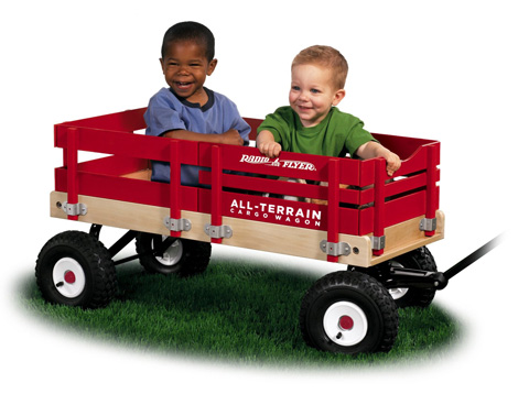 9. Radio Flyer All-Terrain Cargo Wagon