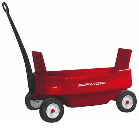 10. Radio Flyer 2700 PathFinder Wagon, Red