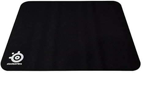 5. SteelSeries QcK+ Gaming Mouse Pad, Black