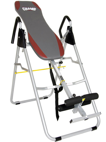 4. Body Champ IT8070 Inversion Therapy Table
