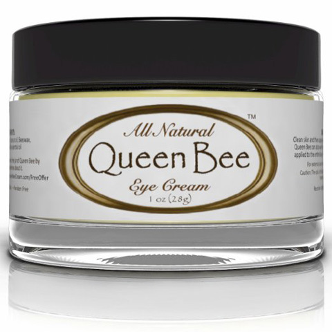9. All Natural Queen Bee Organic Under Eye Cream