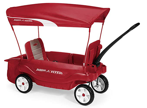 2. Radio Flyer, The Ultimate Comfort Wagon, Red