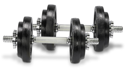 2. Yes4All Adjustable Dumbbells