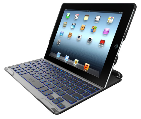 6. Ultrathin Case with Backlit Bluetooth Keyboard