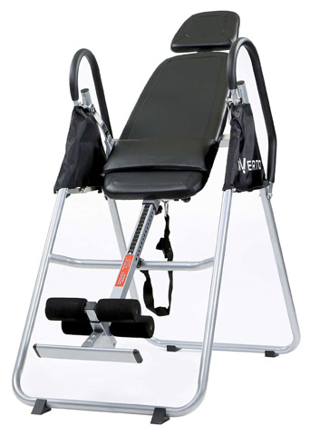 8. Invertio Premium Folding Inversion Table w/ Padded Backrest