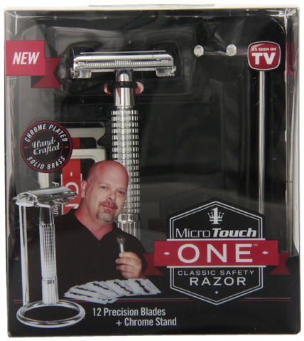11. Micro Touch Safety Razor Chrome