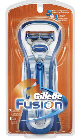 6. Gillette Fusion Manual Razor