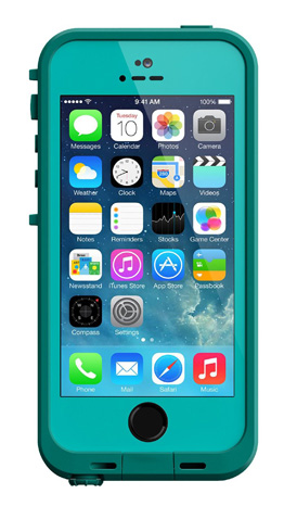 5. Waterproof Case for iPhone 5/5s/SE
