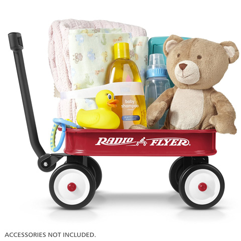 1. Radio Flyer Little Red Toy Wagons