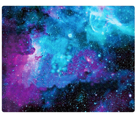 8. Product Title: Galaxy Customized Rectangle Non-Slip Rubber Mouse Pad