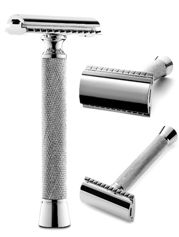 5. Perfecto Double Edge Long Handled Safety Razor
