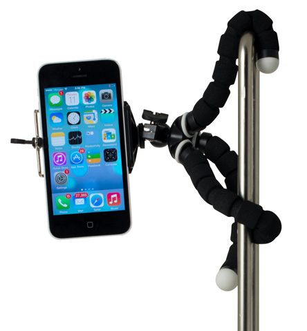 5. RIF6 Mini Tripod Universal Octopus Style Mount for Smartphone, Camera, Webcam, Cell Phone