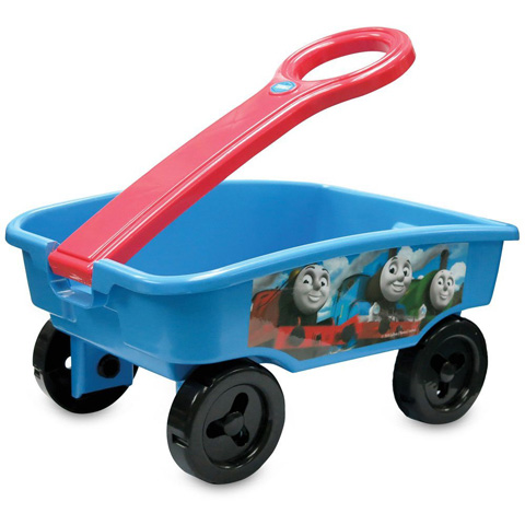 14. Thomas And Friends: Thomas Rolling Along Wagon Ride On