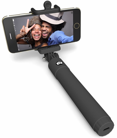 15. Selfie Stick, Perfectday Foldable Extendable Bluetooth Selfie Stick
